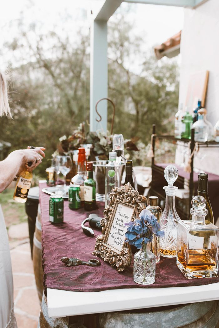 This Eclectic Wedding at Home Came to Life with Thrift Store Finds and Thoughtful Touches There are few issues sweeter than a marriage at house! Brittany and Tim's intimate and eclectic wedding ceremony was stuffed with handmade particula... #thriftstorefinds