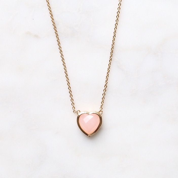 """This little heart is a sneak peek of my JH x MA """"Summer Love"""" jewelry collection…"""