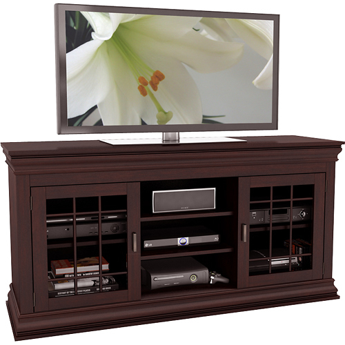 """Sonax TV Stand for TVs Up to 68"""" Espresso B-231-NCT - Best Buy"""