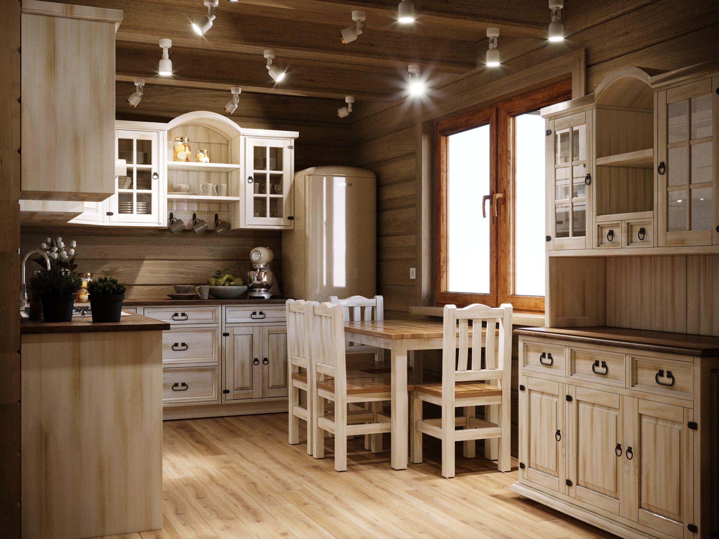 Drewniana Kuchnia Modulowa Wnetrze Kitchen Provence Style Home