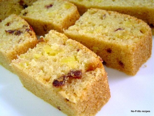 Cornflakes Mixed Fruit Cake cakepins.com