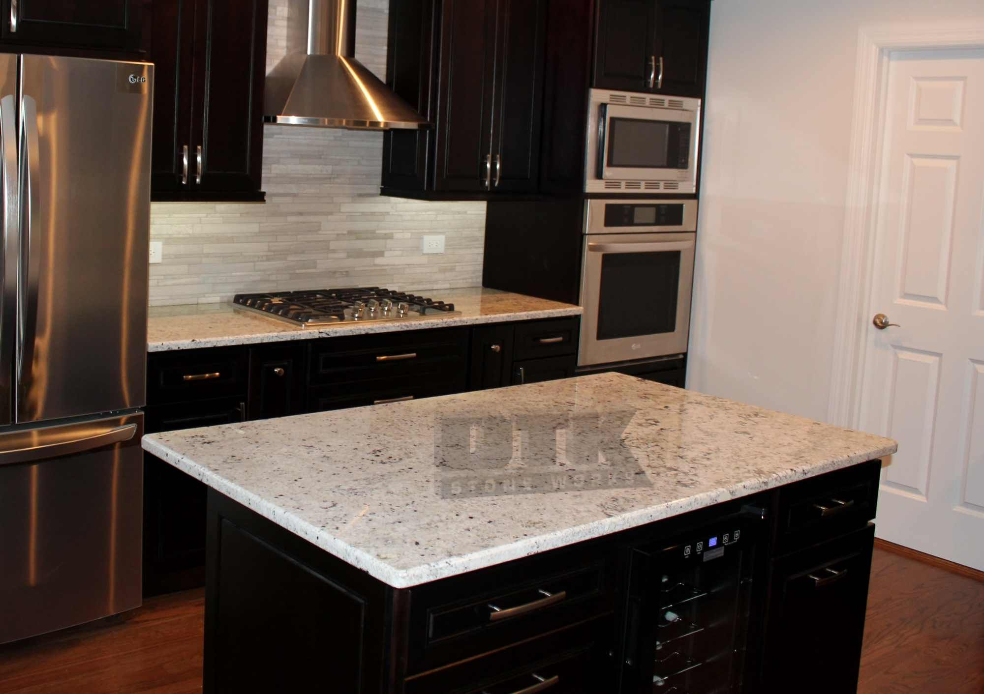 White Ice Granite Boryana and Dinko s Kitchen