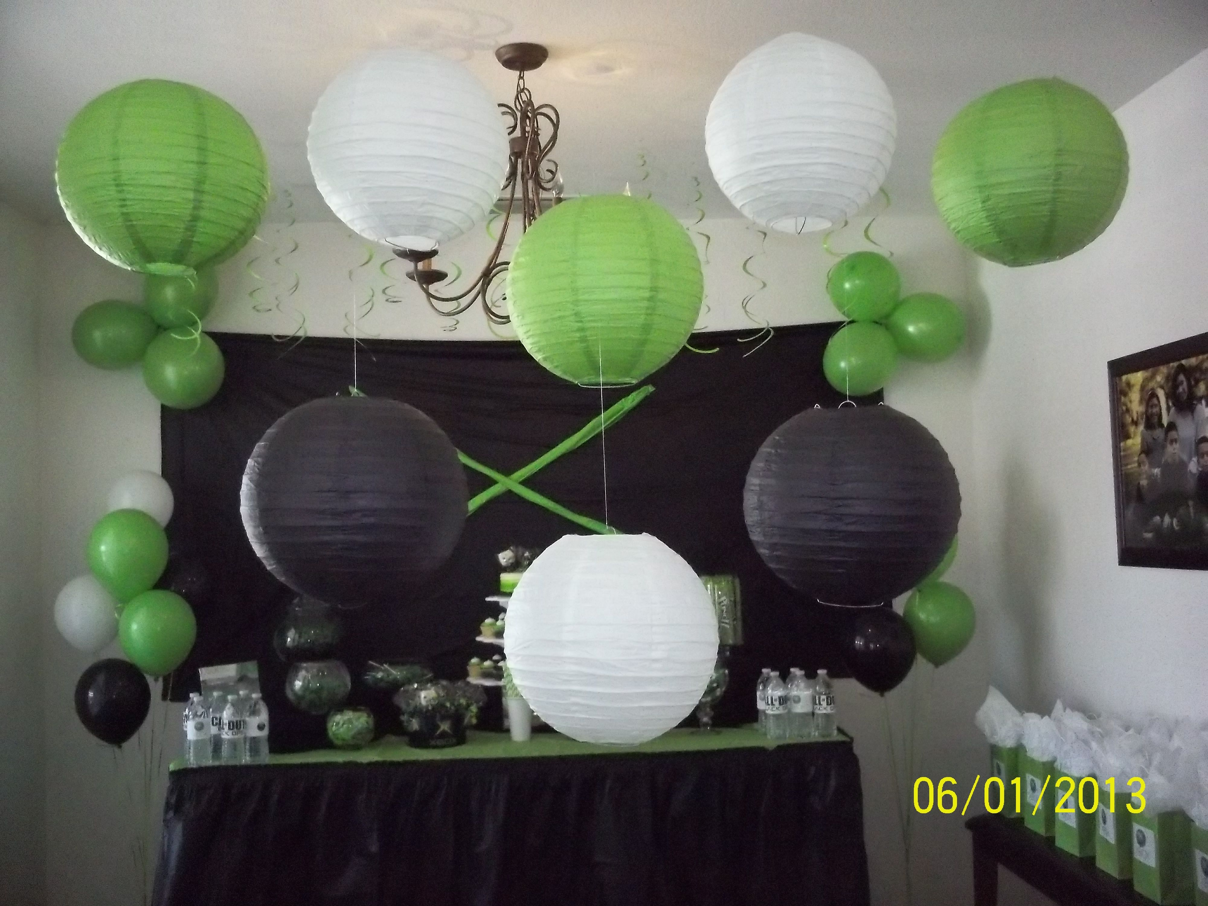 Xbox party decor my parties pinterest xbox party for Decoration xbox one