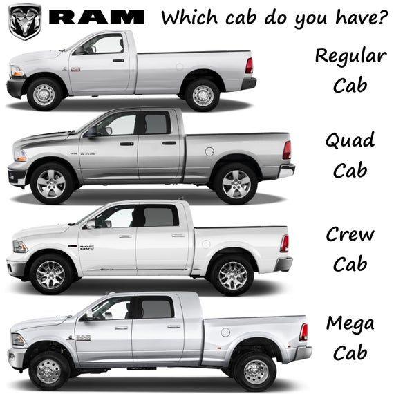 2002 2003 2004 2005 2006 2007 2008 Dodge Ram Quad Cab 4Pc
