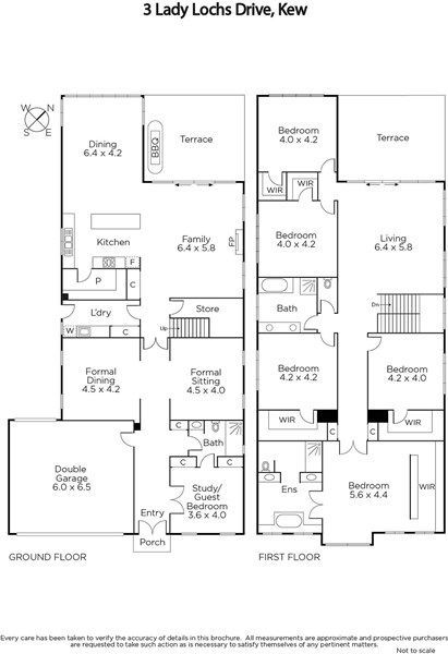3 Lady Lochs Drive Kew Vic 3101 Image 8 Narrow House Plans Bedroom House Plans Tiny House Floor Plans