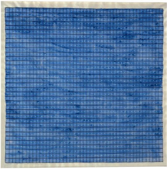Agnes Martin, Summer 1964; watercolor, ink and gouache on paper