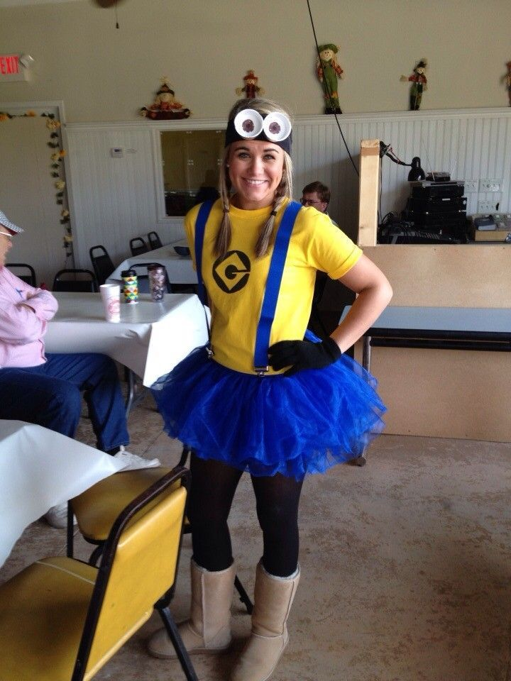 sexy minion costume chas costume ideas in 2019 minion halloween rh pinterest com