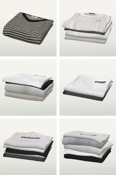 Slox: Ogy Folded Clothes