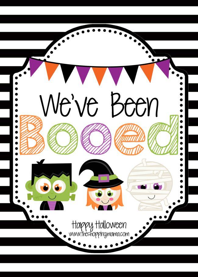 We've Been Booed! | Halloween kids, We ve been booed ...