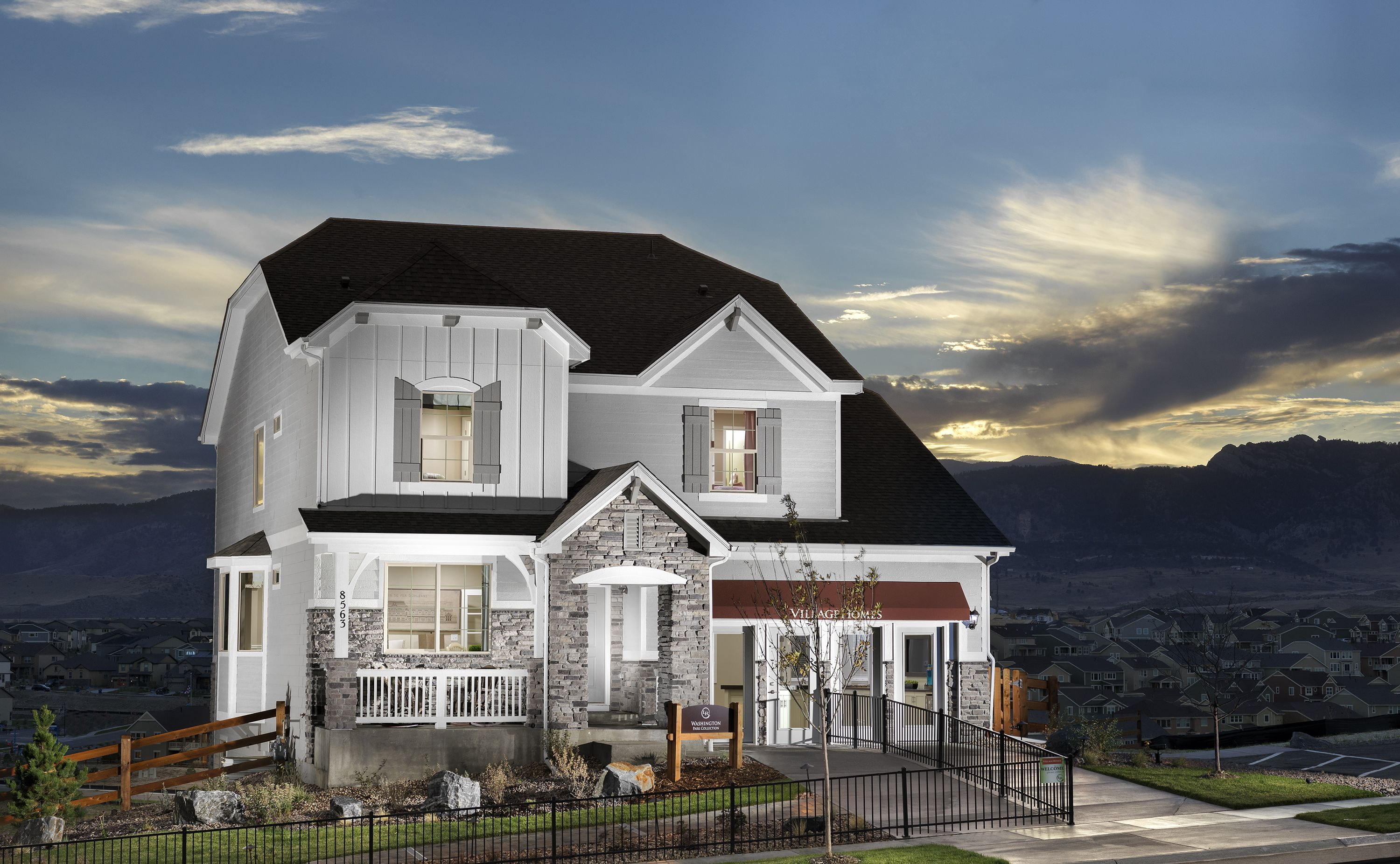 the washington at the park collection at leyden rock in arvada rh pinterest com