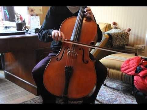 German cello Wilfer for sale at violoncello.se