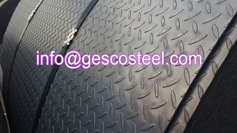 Checkered Steel Coil Steel Plate Checkered Steel