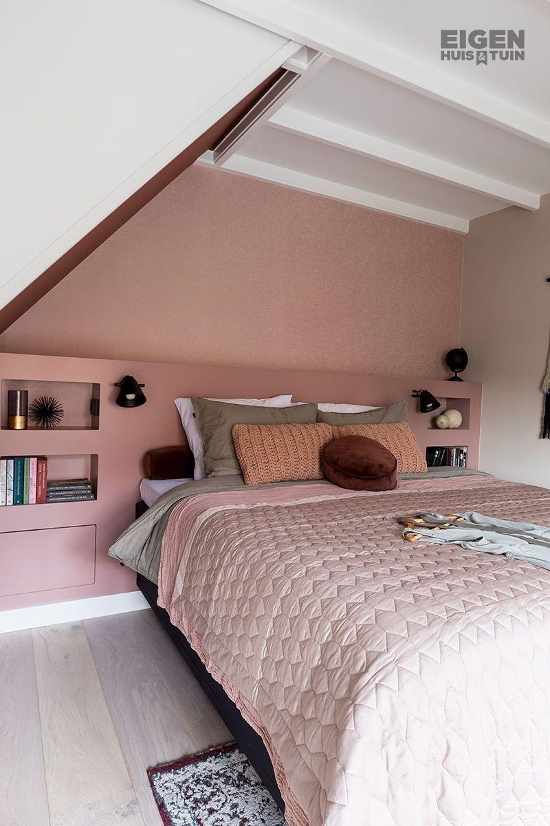 Van saaie ruimte naar roze slaapkamer met luxe hotelgevoel