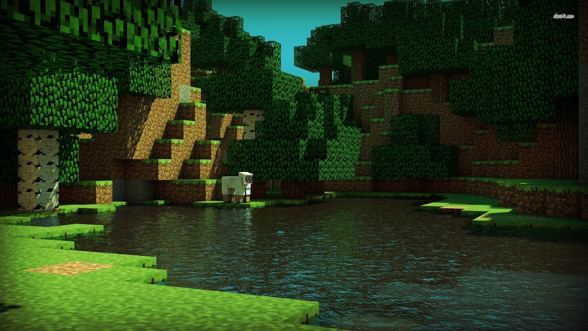 Minecraft Wallpapers Hd X Group Minecraft Wallpaper Minecraft Shaders Desktop Pictures