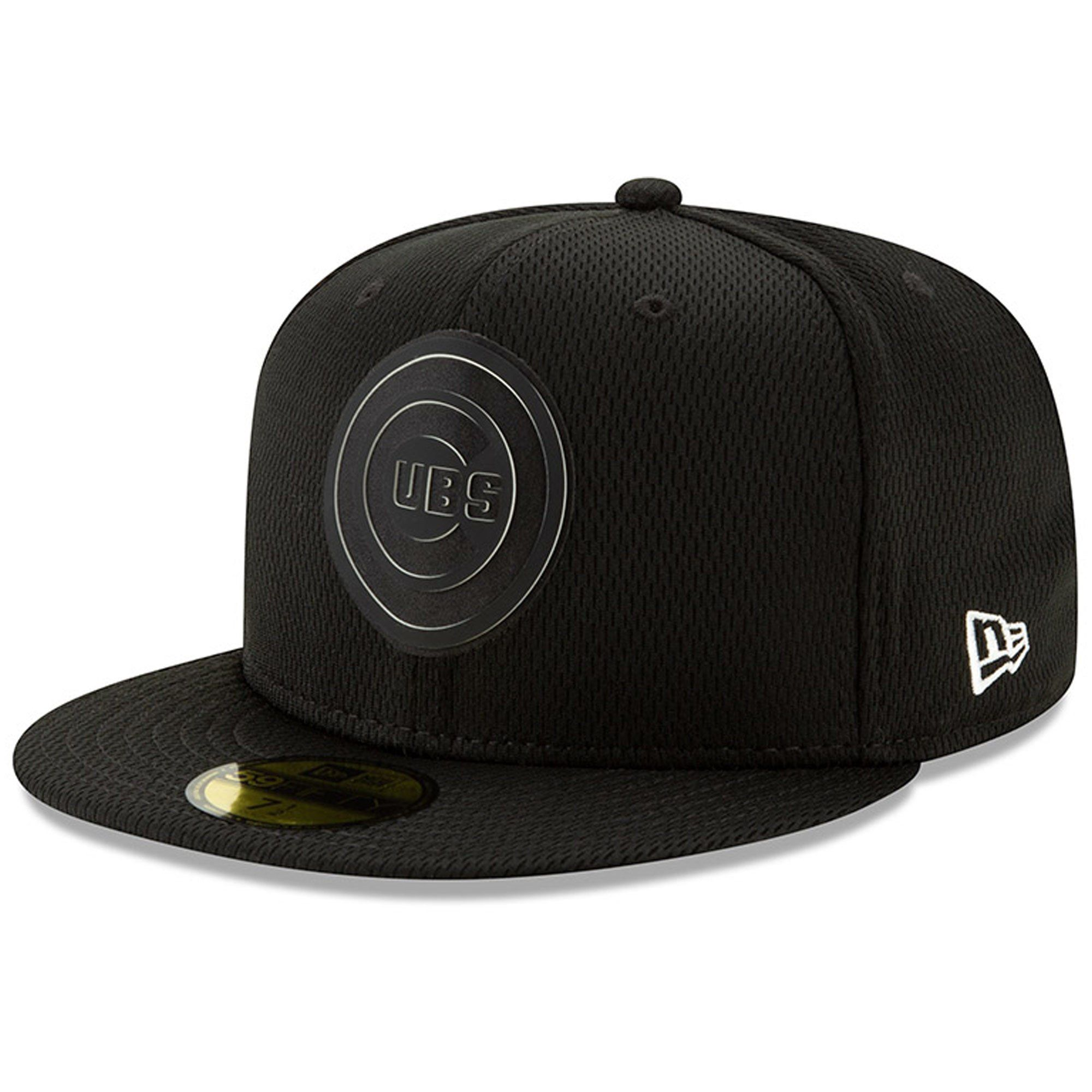 timeless design 93357 38bbd Men s Chicago Cubs New Era Black Clubhouse Collection 59FIFTY Fitted Hat,  Your Price   35.99