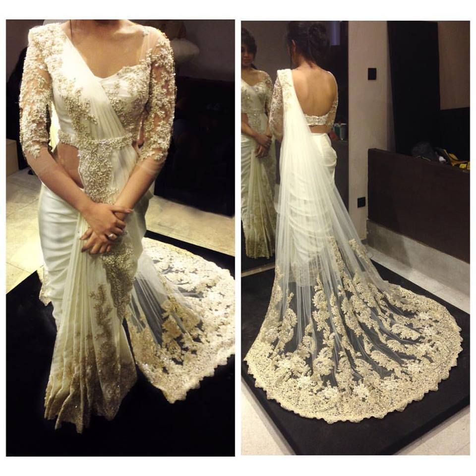 White Indian Wedding Dresses: Pin By Aneesh Kaur On Indian Wear