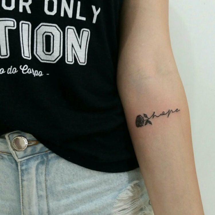 Photo of Hope Tattoo: The most beautiful ideas and motifs at a glance!