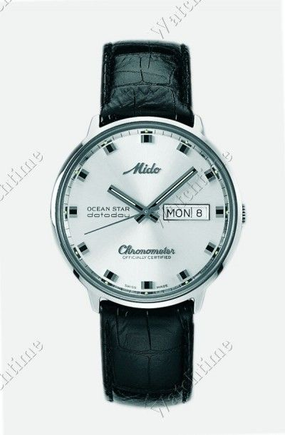 Mido | Commander Chronometer | Steel | Watch database watchtime.com $655