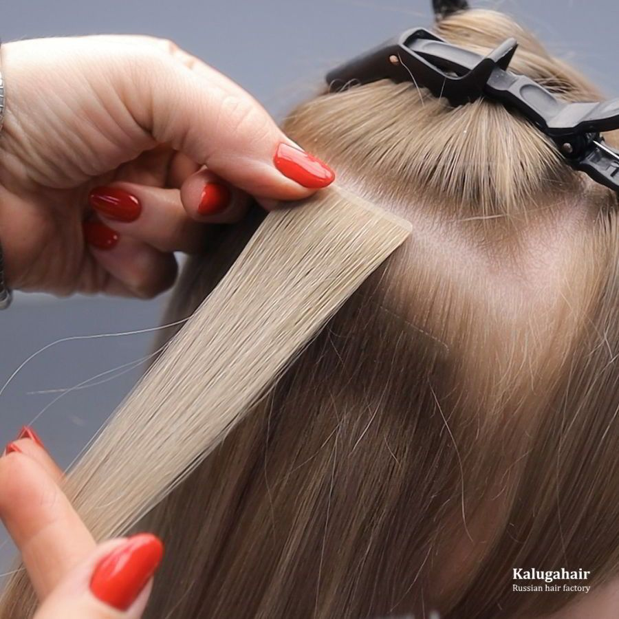 Invisible Tape Extension Is One Of The Latest Technology In The Ever Changing Hair Industry New Hair Tape In Extensions Hair