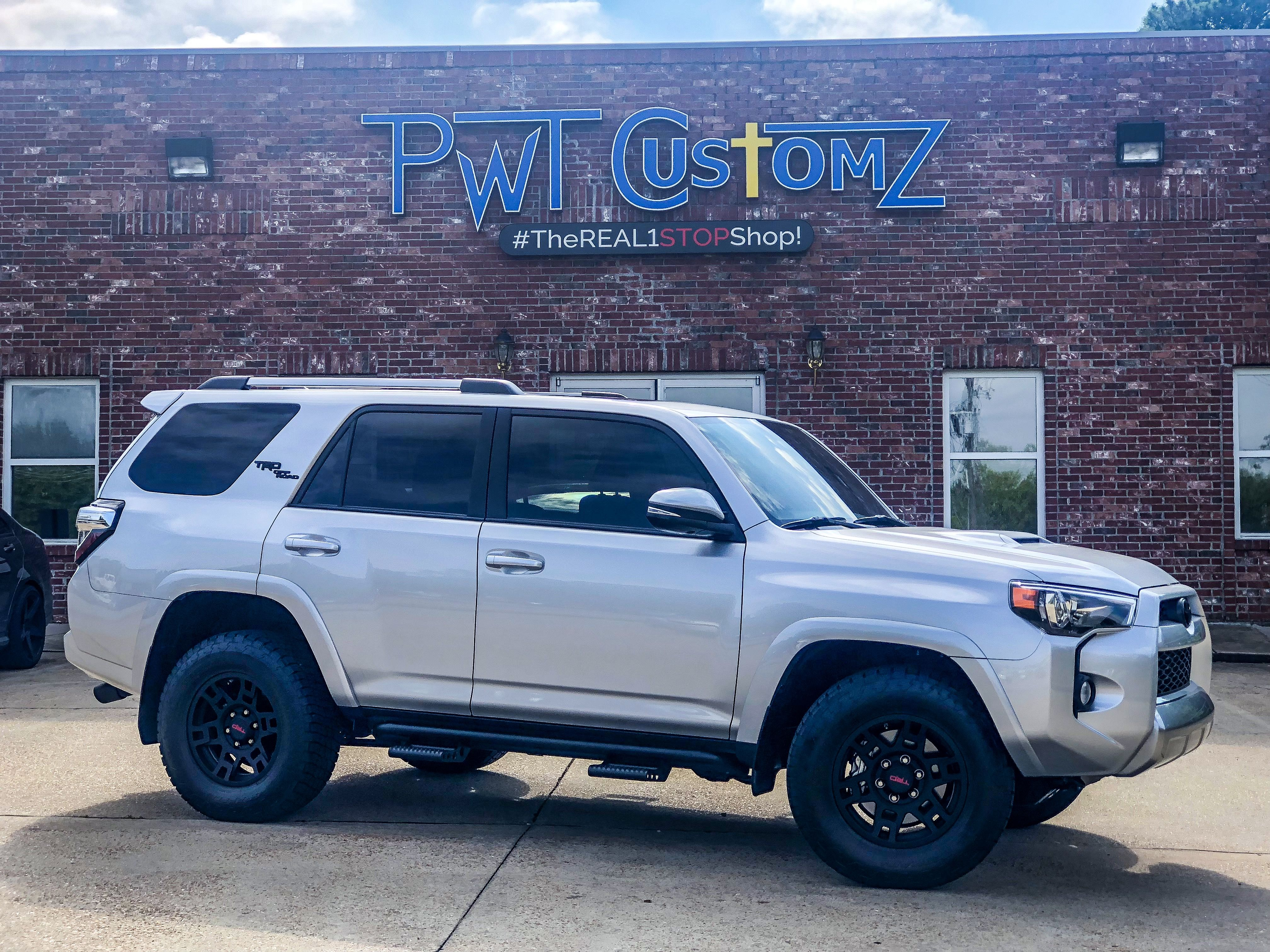 Pwtint Tinted Windows Ridgeland Ms Toyota 4runner