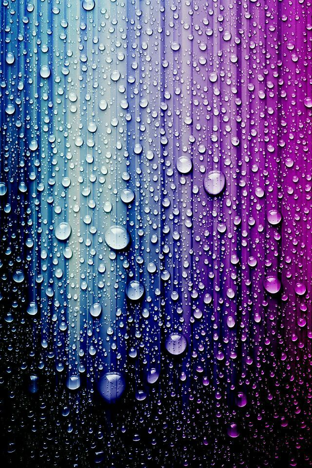 Pastel Rainbow Water Droplets Wallpaper Cool Backgrounds
