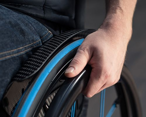 New Mobility, November 2017. Studies have shown that manual wheelchair users push an average of 2,000 to 3,000 times a day. That takes a toll on the upper extremities, especially hands and wrists. The good news is there are a variety of pushrim options that offer superior propulsion through ergonomic design, increasing pushing power and reducing the stress on