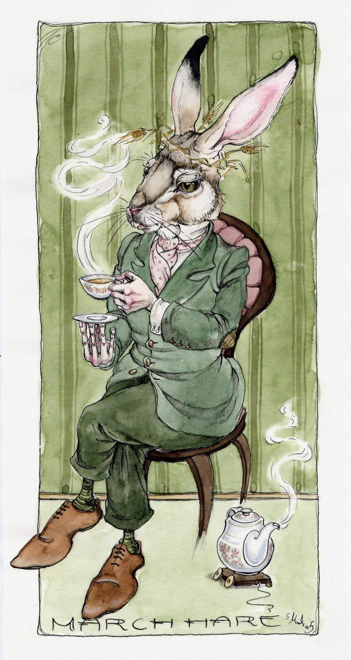 march hare by luisa kelle, http://www.epilogue.net/cgi/database/art/view.pl?id=82614