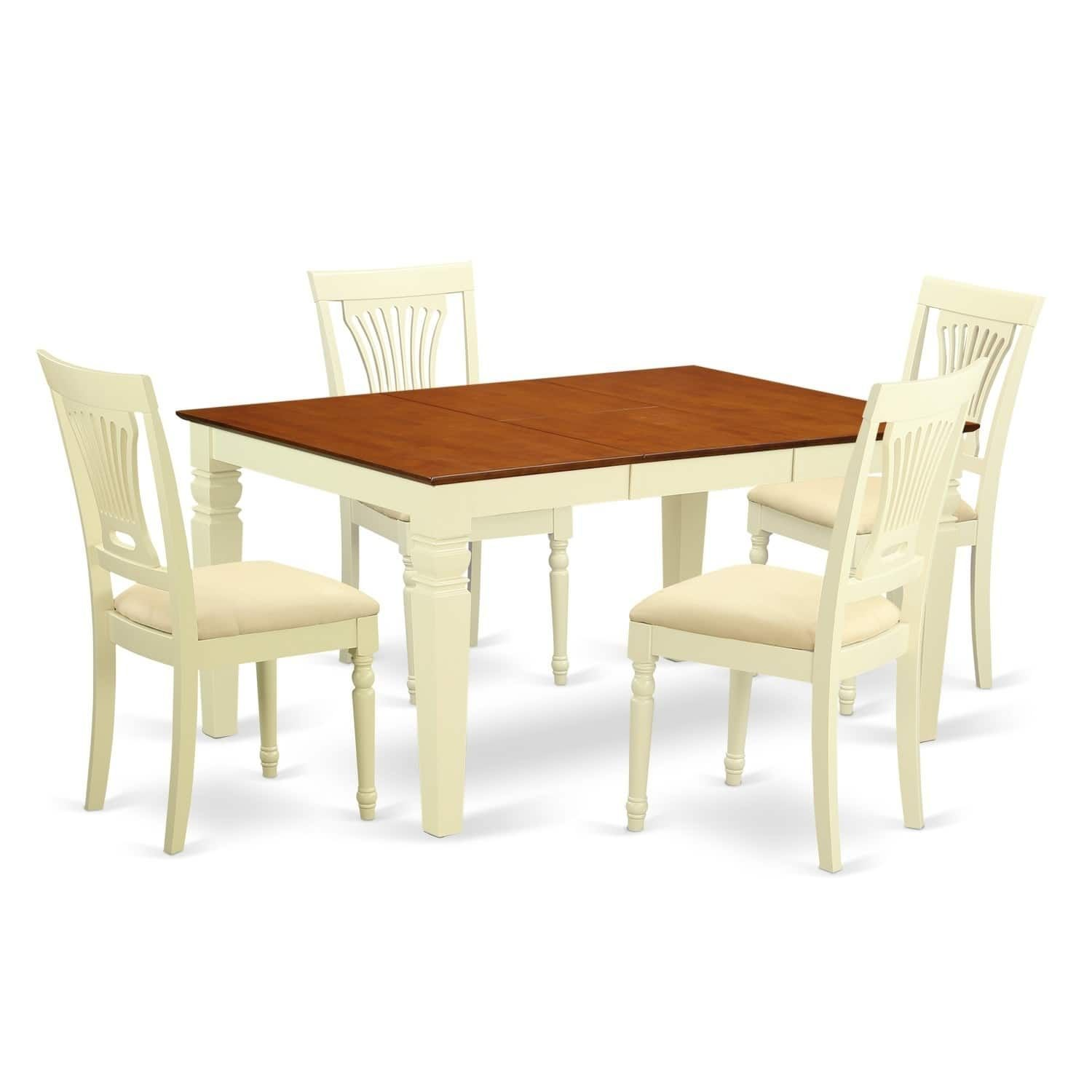 wepl7 bmk 5 pc kitchen table set with a table and 4 chairs 5 piece rh uk pinterest com