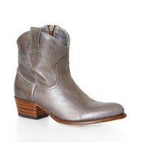 Penelope Chilvers Angel Boot, Smoke Metallic Leather