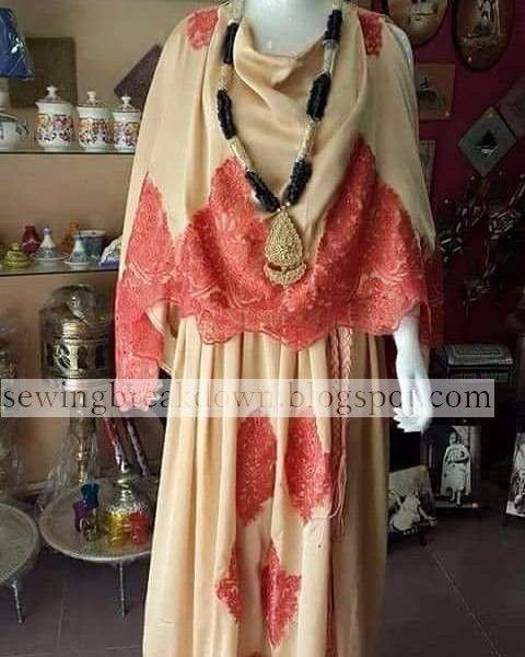 جديد موديلات اللباس الشاوي خياطة و تفصيل