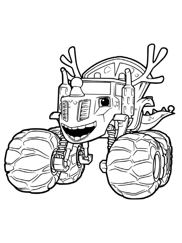 Printable Blaze And The Monster Machines Characters Coloring Pages Blaze And The Mons In 2020 Monster Truck Coloring Pages Cartoon Coloring Pages Truck Coloring Pages