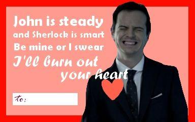 Außergewöhnlich Moriarty Valentineu0027s Day Card #SherlockHolmes