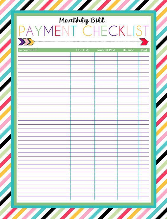 17 Brilliant and FREE Monthly Budget Template Printable you need to - free printable budget spreadsheet
