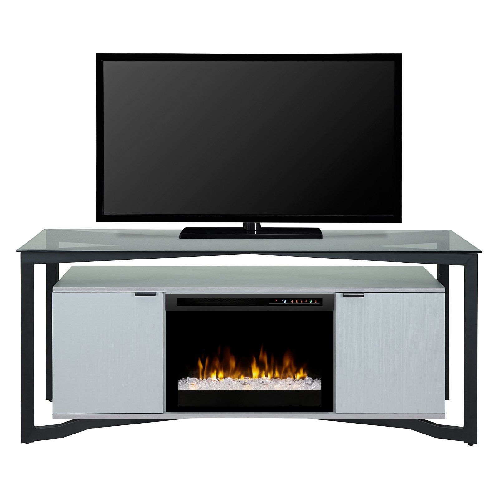 dimplex christian electric fireplace tv stand in 2019 products rh pinterest com