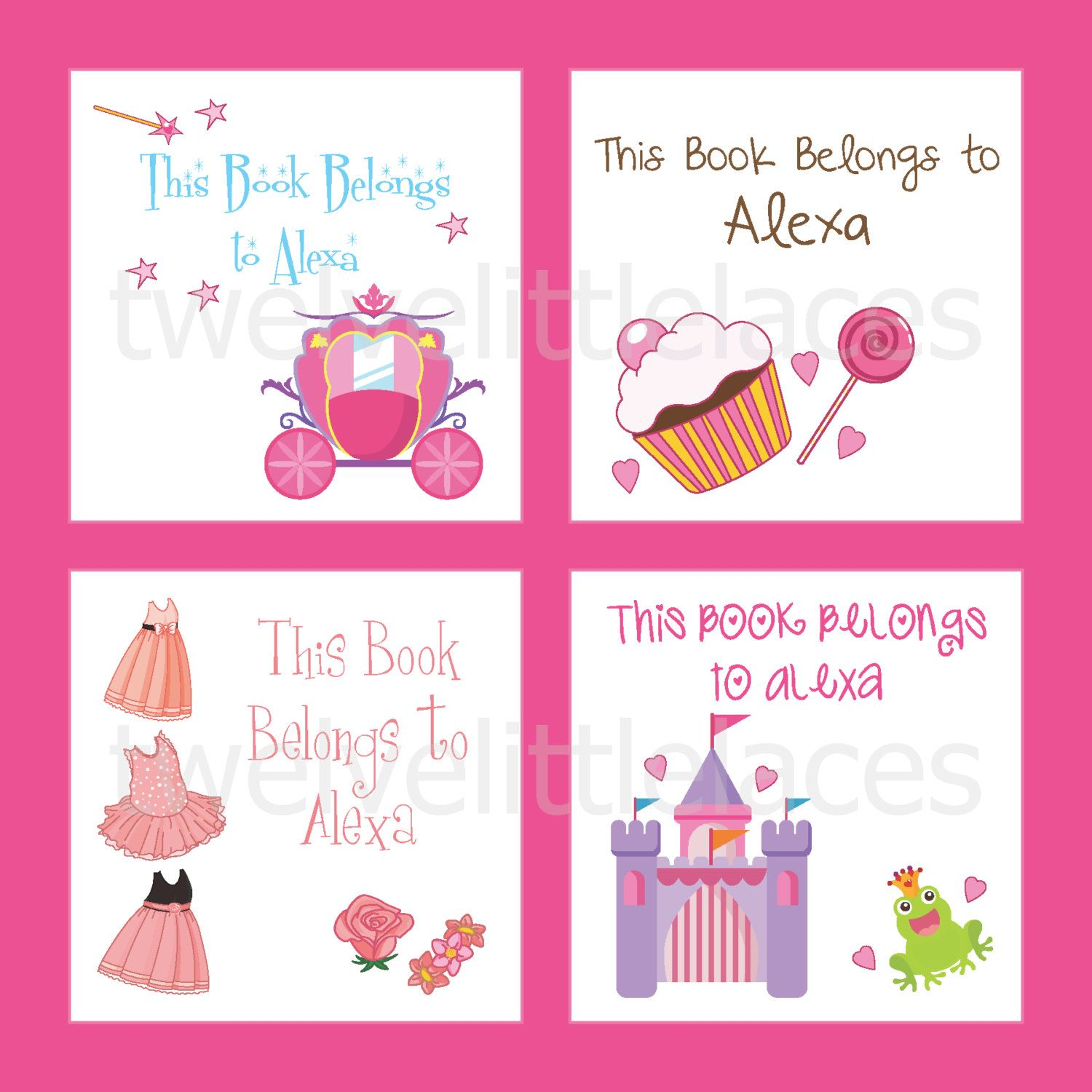 Personalized Book Labels