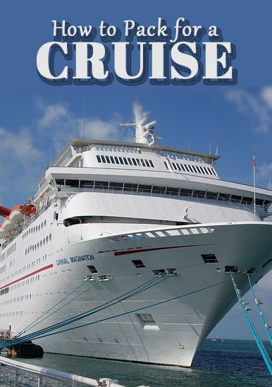 how and what to pack for a cruise cruising pinterest cruise rh pinterest com
