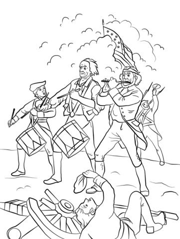 Yankee Doodle Dibujo para colorear | Dibujos colorear en 2018 ...