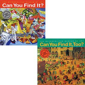 Can You Find It? and Can You Find It, Too? Book Set - Met Publications - MetKids - The Met Store