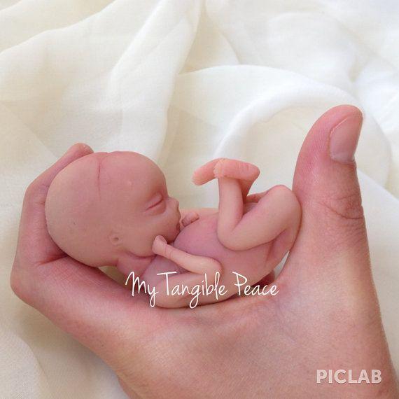 Ooak 13 Week Gestation Baby Memorial/Honor By
