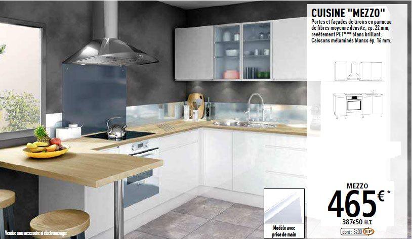 Cuisine Brico Depot Mezzo Cuisine Brico Depot Meuble Gris Et Blanc Deco Maison Design