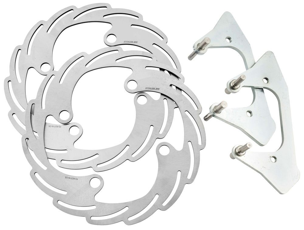 Streamline Oversized Brake Rotor Kit F2 Os16