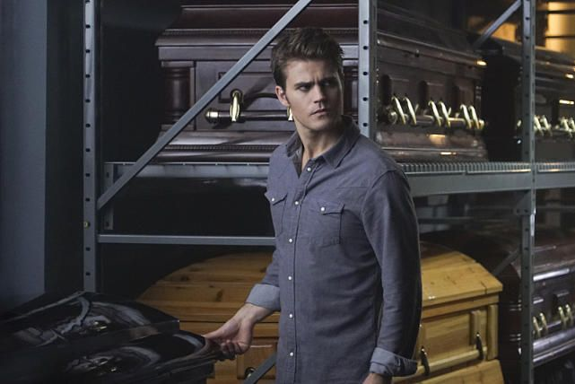 "The Vampire Diaries Photos from ""Live Through This"": Surrounded by Coffins - The Vampire Diaries Season 7 Episode 5"