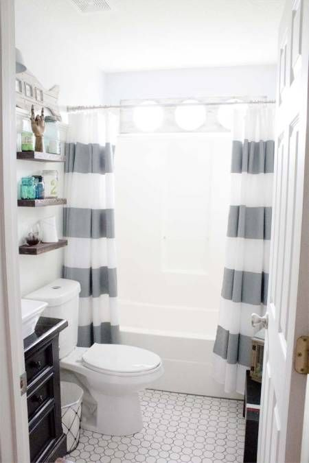 before after this childish bathroom goes glam with seaside rh pinterest com