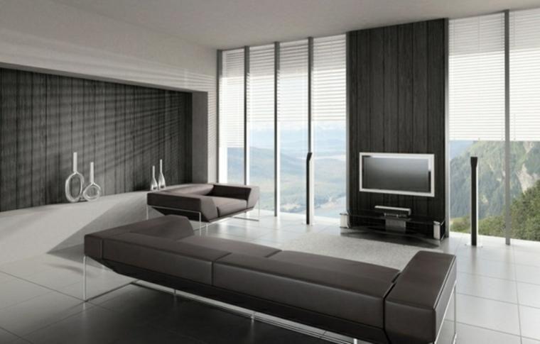 #Interior Design Haus 2018 Minimalistische Innenausstattung 85 Zimmer In  Schwarz Und Weiß #Modern #