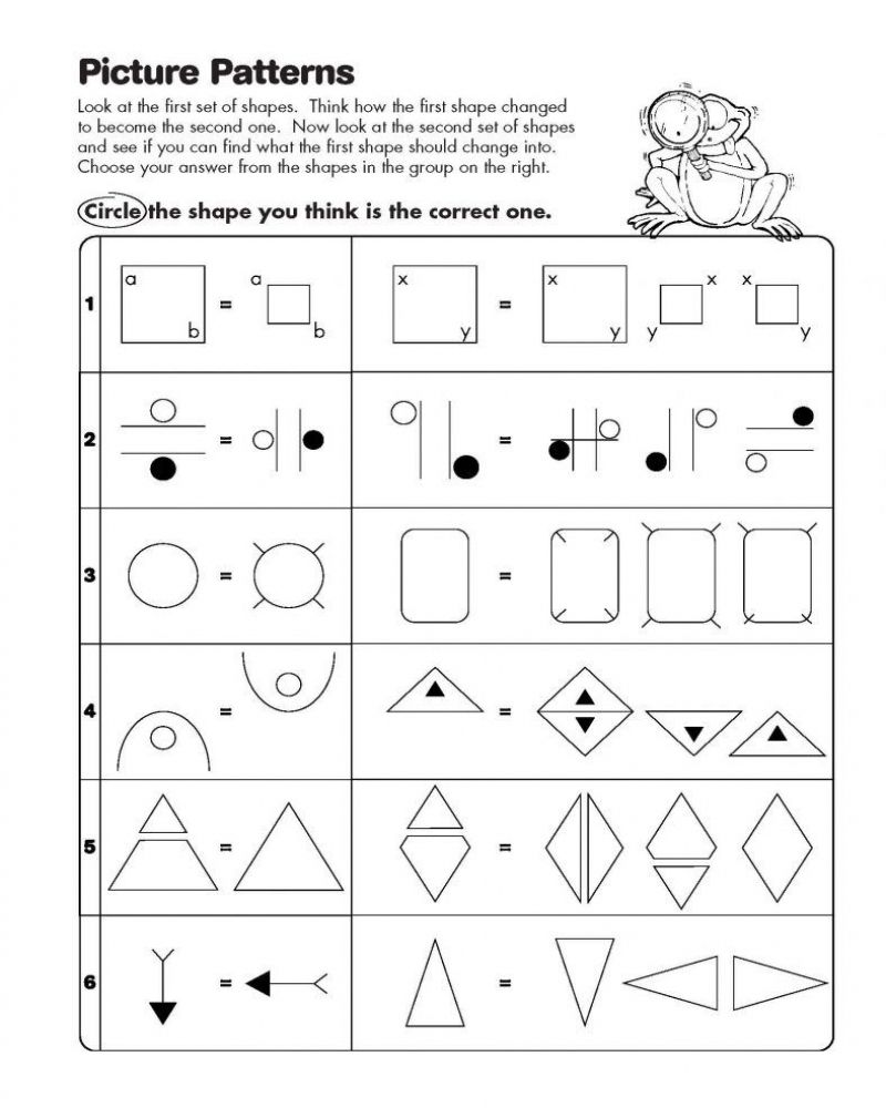 Logical Math Worksheet For Kindergarten Printable Free Di 2020