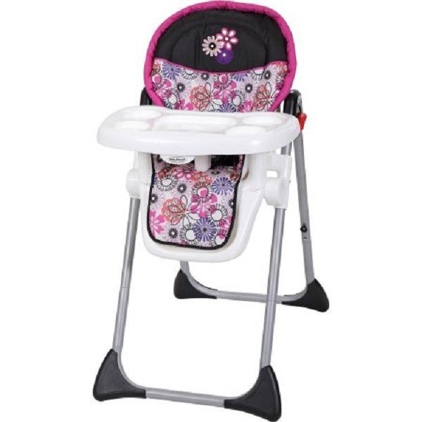 Baby Girl Chair Worlds Best Massage High Adjustable Foldable Pink Portable Infant Toddler Feeding Babytrend