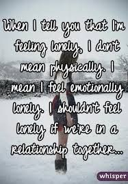 Why i feel lonely in my marriage