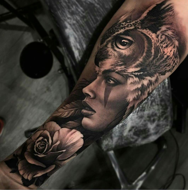 Owl Tattoo Native Tattoos Tattoos Shoulder Tattoo