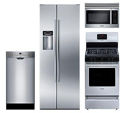 sub zero stainless steel appliances bosch stainless steel rh pinterest com