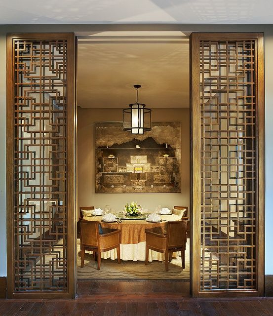 Fretwork doors or room dividers_he St. Regis Lhasa Resort-Yan Ting Chinese  Restaurant by St Regis Hotels and Resorts